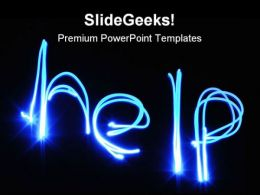 Help Abstract PowerPoint Templates And PowerPoint Backgrounds 0511