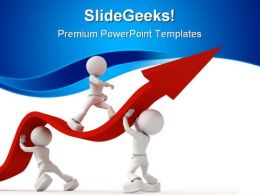 Help In Crisis Business PowerPoint Templates And PowerPoint Backgrounds 0411