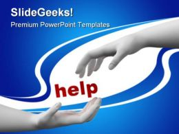 Help Security PowerPoint Templates And PowerPoint Backgrounds 0811