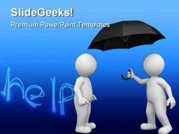 Helping People Business PowerPoint Backgrounds And Templates 1210