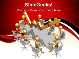 High Performance Meeting Success PowerPoint Templates And PowerPoint Backgrounds 0711