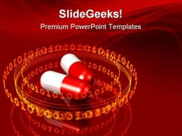 High Tech Medicine Medical PowerPoint Templates And PowerPoint Backgrounds 0511