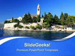 Hillstation Vacation PowerPoint Templates And PowerPoint Backgrounds 0611