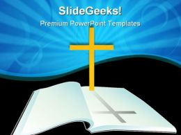 Holy Bible Religion PowerPoint Templates And PowerPoint Backgrounds 0211