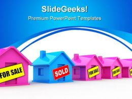 Houses For Sale Real Estate PowerPoint Templates And PowerPoint Backgrounds 0511