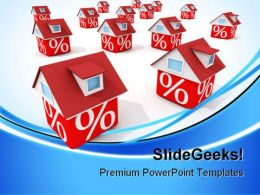 Houses Real Estate PowerPoint Templates And PowerPoint Backgrounds 0711