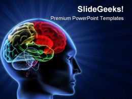 Human Brain01 Science PowerPoint Templates And PowerPoint Backgrounds 0711