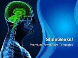 Human Brain Technology PowerPoint Templates And PowerPoint Backgrounds 0211