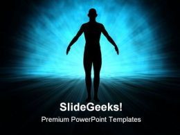 Human Science Technology PowerPoint Templates And PowerPoint Backgrounds 0711