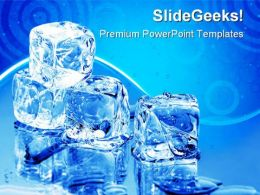 Ice Cubes Lifestyle PowerPoint Templates And PowerPoint Backgrounds 0511