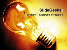 Idea02 Business PowerPoint Template 0810