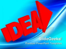 Idea02 Business PowerPoint Templates And PowerPoint Backgrounds 0211