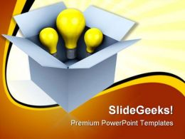 Idea Box Business PowerPoint Templates And PowerPoint Backgrounds 0311