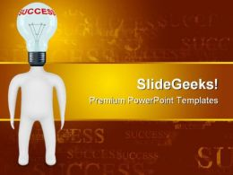 Idea Business Success PowerPoint Templates And PowerPoint Backgrounds 0711