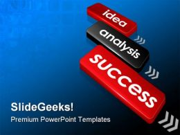 Idea Success PowerPoint Templates And PowerPoint Backgrounds 0511