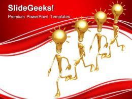 Ideas Teamwork Business PowerPoint Templates And PowerPoint Backgrounds 0811