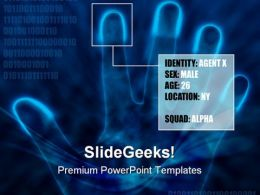 Identity Info Security PowerPoint Templates And PowerPoint Backgrounds 0211