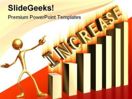 Increase Profits Business PowerPoint Template 0610