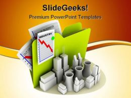 Industry Business PowerPoint Template 1110