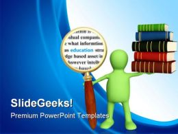 Information Education PowerPoint Backgrounds And Templates 0111
