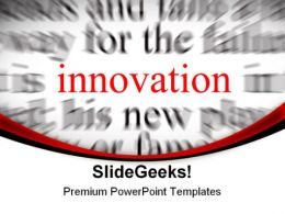 Innovation Background PowerPoint Templates And PowerPoint Backgrounds 0711