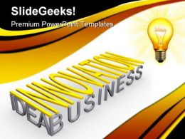 Innovation Idea Business PowerPoint Templates And PowerPoint Backgrounds 0711