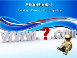 Internet Address Communication PowerPoint Templates And PowerPoint Backgrounds 0711