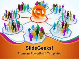 Internet Concept Computer PowerPoint Templates And PowerPoint Backgrounds 0711