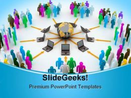 Internet Concept Global PowerPoint Templates And PowerPoint Backgrounds 0711