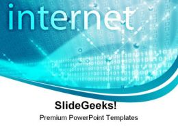 Internet Data Technology PowerPoint Templates And PowerPoint Backgrounds 0611