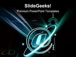 Internet Galaxy Background PowerPoint Templates And PowerPoint Backgrounds 0711