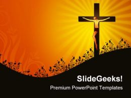 Jesus Christ Religion PowerPoint Templates And PowerPoint Backgrounds 0211