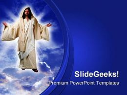 Jesus Christ Religion PowerPoint Templates And PowerPoint Backgrounds 0811