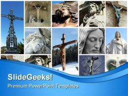 Jesus Religion PowerPoint Backgrounds And Templates 0111