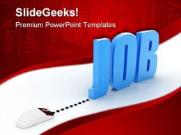Job Online Search Internet PowerPoint Templates And PowerPoint Backgrounds 0311
