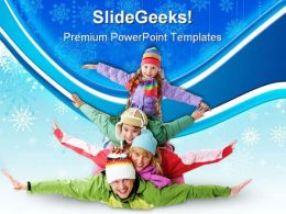 Joyful Family Holidays PowerPoint Templates And PowerPoint Backgrounds 0511
