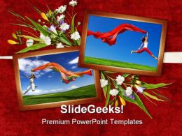 Jump Of Joy Entertainment PowerPoint Templates And PowerPoint Backgrounds 0311