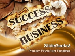 Key To Success In Business Global PowerPoint Templates And PowerPoint Backgrounds 0311