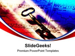 Key To Success Security PowerPoint Templates And PowerPoint Backgrounds 0311