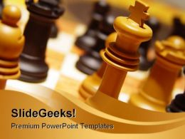 King Game PowerPoint Templates And PowerPoint Backgrounds 0311