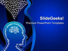 Knowledge Creative Mind Education PowerPoint Templates And PowerPoint Backgrounds 0211