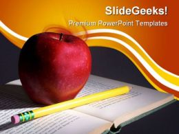 Knowledge Education PowerPoint Backgrounds And Templates 1210