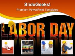 Labor Day Construction PowerPoint Backgrounds And Templates 1210
