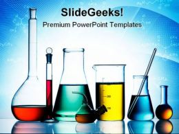 Laboratory Glassware Science PowerPoint Templates And PowerPoint Backgrounds 0311