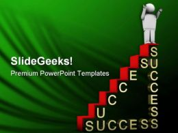 Ladder Of Success Business PowerPoint Templates And PowerPoint Backgrounds 0511