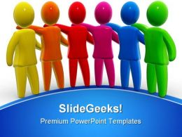 Leader01 Business PowerPoint Templates And PowerPoint Backgrounds 0811