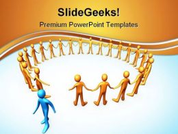 Leader Concept Leadership PowerPoint Templates And PowerPoint Backgrounds 0711