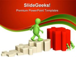 Leader Concept Leadership PowerPoint Templates And PowerPoint Backgrounds 0811