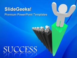 Leadership01 Success PowerPoint Templates And PowerPoint Backgrounds 0811