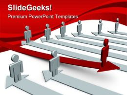 Leadership Concept Business PowerPoint Templates And PowerPoint Backgrounds 0611